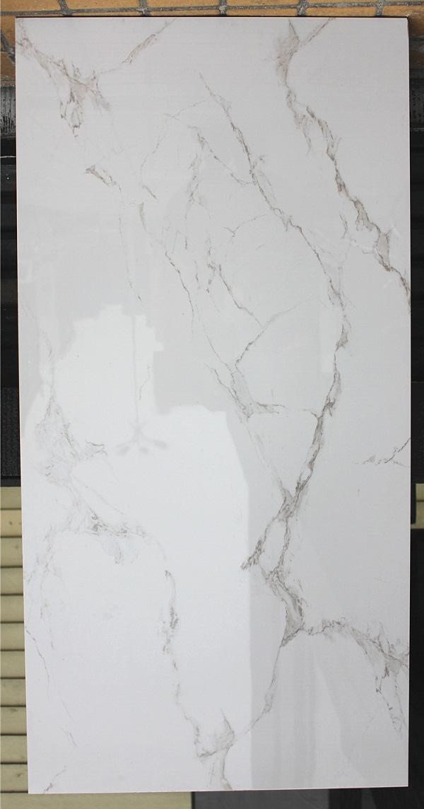 Calacatta White Glazed Porcelain Wall Tile