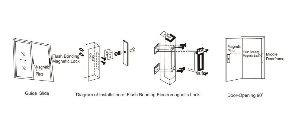 medium resolution of wireless magnetic lock wiring diagram a door lock wiring diagram magnetic door locks access control attractive