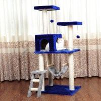 China Cheap Hot Sale Cat Tree Cat Furniture with Hanging ...