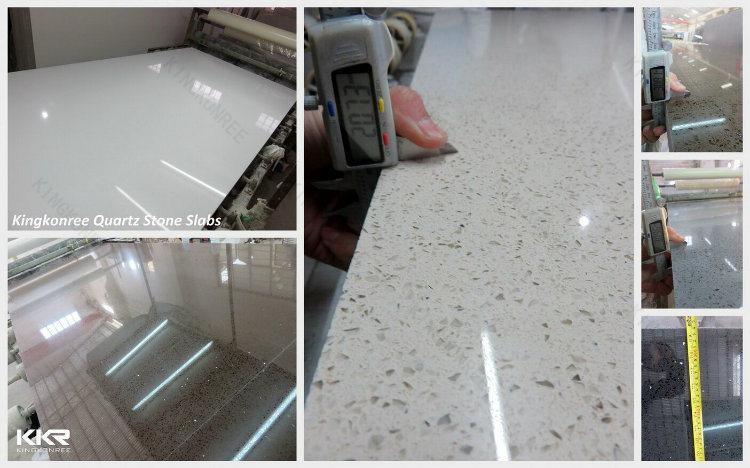 12mm blanco de mrmol de Carrara de ingeniera de la piedra de cuarzo  12mm blanco de mrmol de Carrara de ingeniera de la piedra de