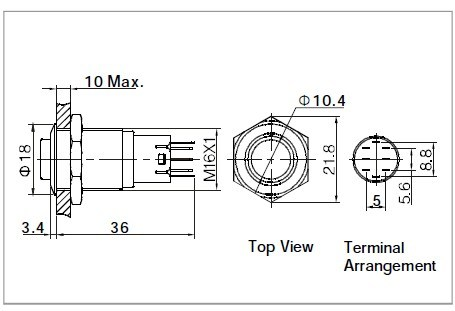 12v Push Switch 12V LED Wiring Diagram ~ Odicis