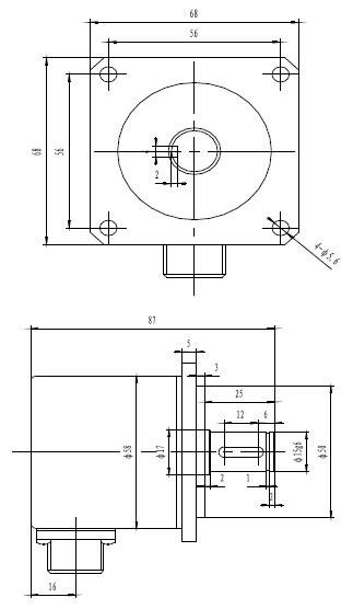 China 58mm Diameter Incremental Rotary Encoder Chb58s