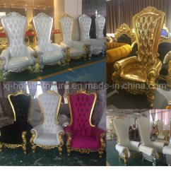 How To Make A Queen Throne Chair Vintage Rocking Chairs Cheap Royal Black Wedding High Back King China 2 Frame One Seat Two Or As Customer Need 3 Color Pulverous Finish All Of Are Made By Antirust Folding Locate Powered Springs