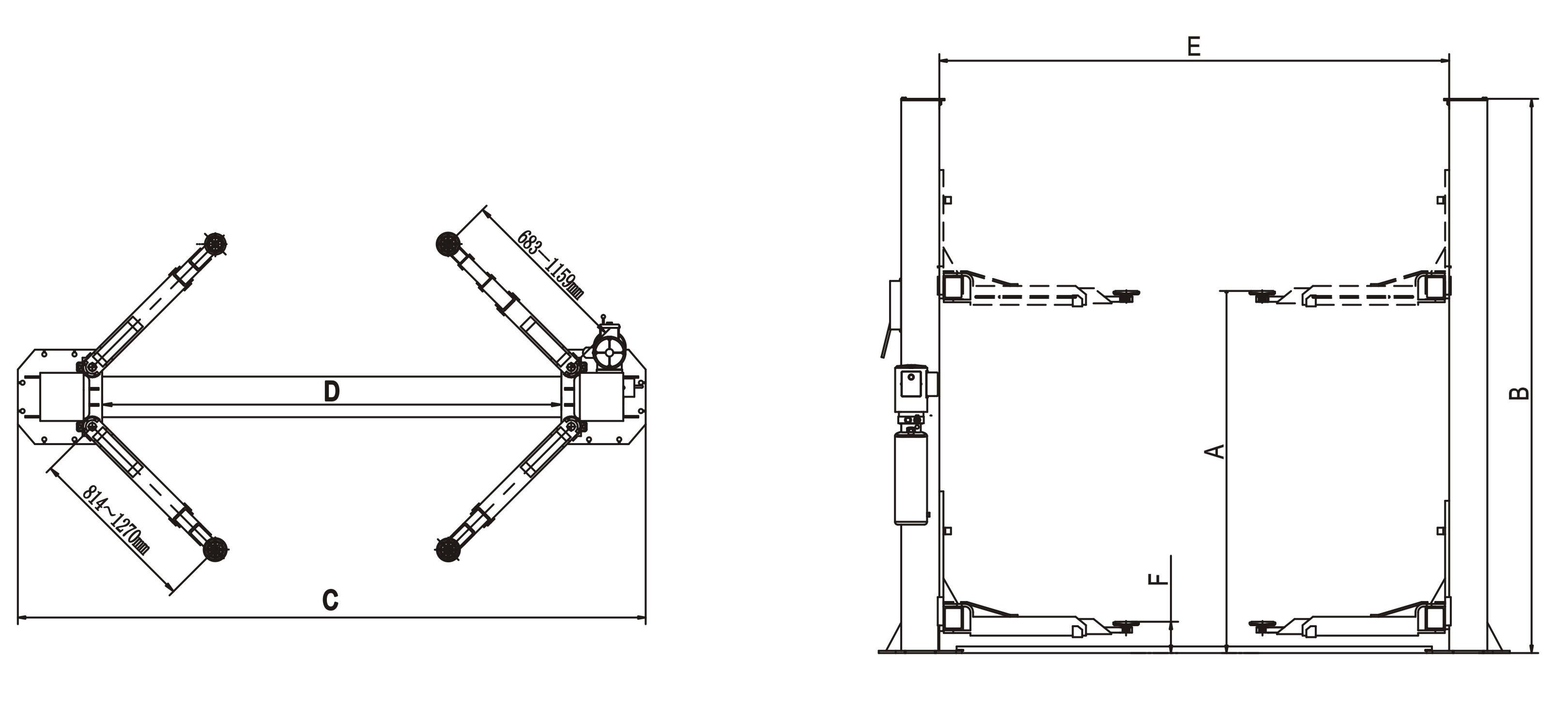 tags: #four post car lift parts#four lift post subterraneancar#economy four  post lift#four post car lift garage living#four post lift truck#four post