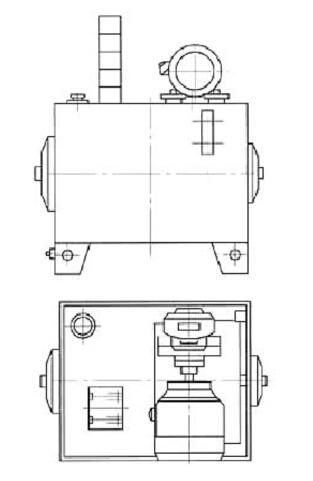 Unidad de alimentación hidráulica (fuente de energía