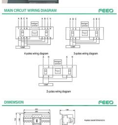 ats 4 phase dual power auto transfer switch china transfer 4 wire trailer wiring diagram [ 750 x 1679 Pixel ]