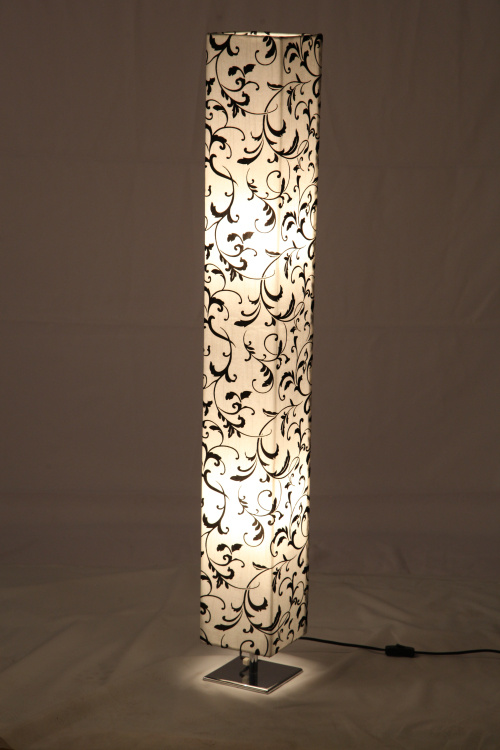 De moderne Nieuwe Oosterse Lamp van de Bloemen van de Druk