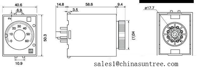 omron 24v relay wiring diagram baseball field printable layout h3y 24 images auto electrical gallery china st3p 220v 12v time delay timer