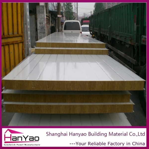 Fireproofing Rock Wool Sandwich Panel Wall China - Year of