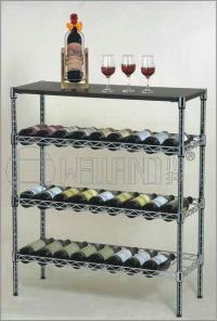 Estante inclinado 5 gradas ajustable del vino del metal ...