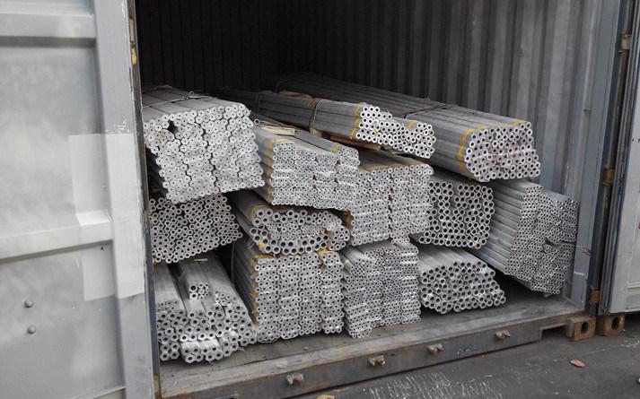 China Cold Drawn Aluminum Pipe 5052, 5083, 5A02
