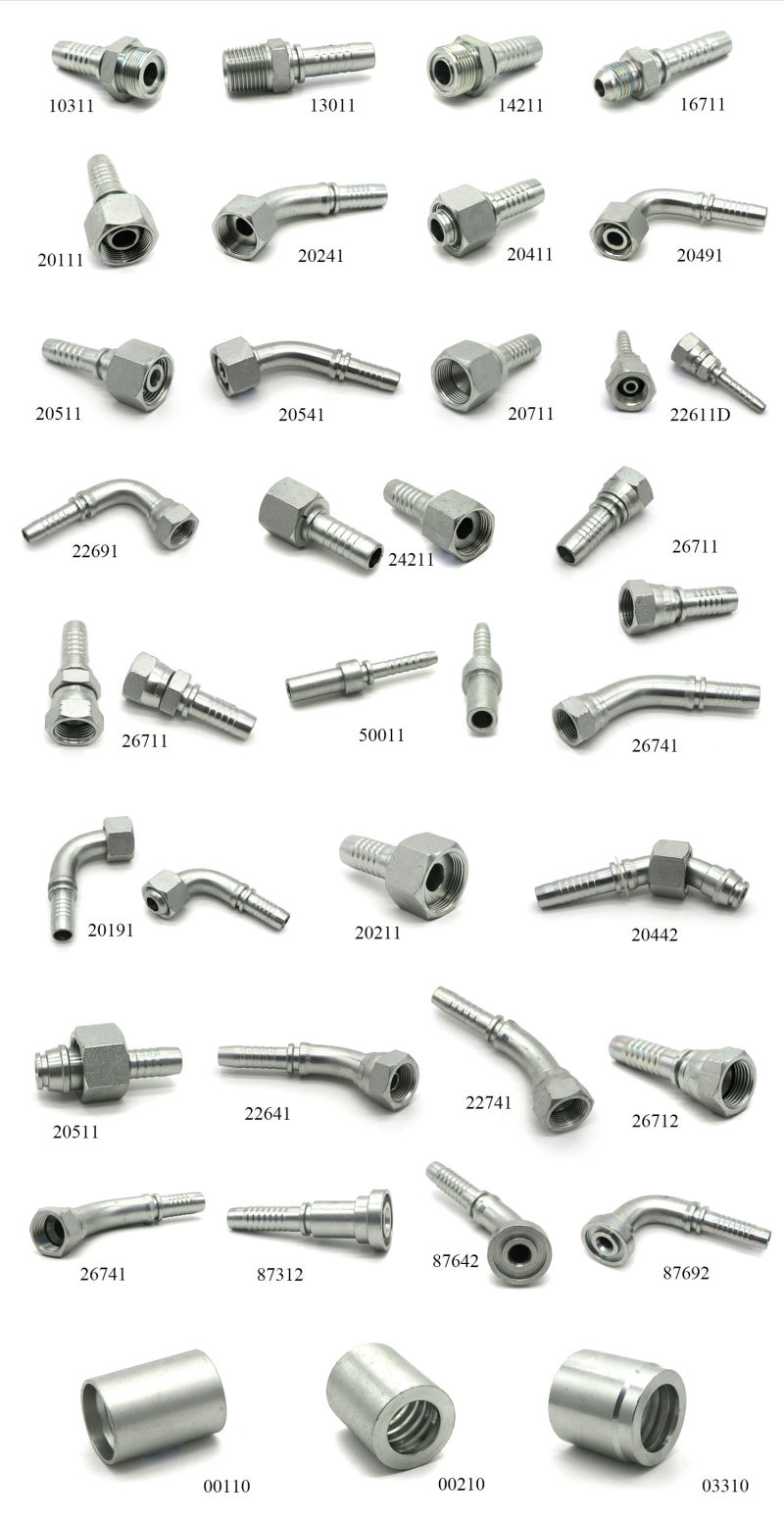 China Manufacturer Hydraulic Stainless Steel Hose Fitting