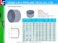 China PVC Pipe Fitting End Cap - China Cap, PVC Cap