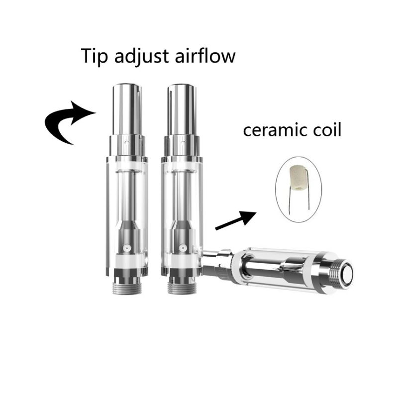 China Adjustable Airflow Ceramic Coil 100% No Leaking Cbd