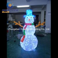 China DIY Funny LED Christmas Snowman for Outdoor ...