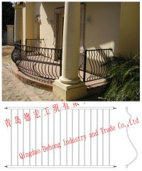 China Ornamental Security Customized Wrought Iron Fences ...
