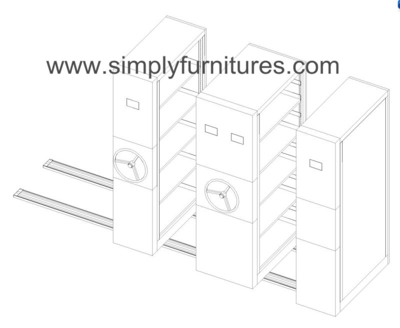 China Mobile Storage Compactors for Retail Stockroom (T4B