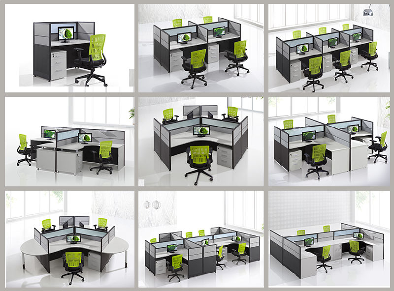 CF 6 Seater Bureau Workstation Meubles De Bureau Pour