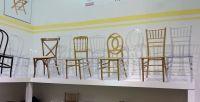 China PC Material Gold Resin Tiffany Chair/Chiavari Chair ...
