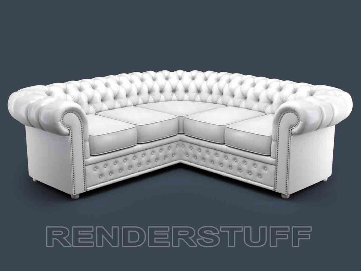chesterfield sofa leather white southern motion reclining parts corner crystal easy