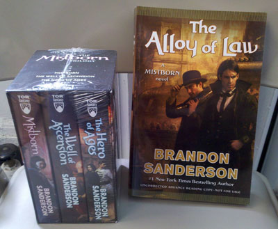 Mistborn Prize Pack