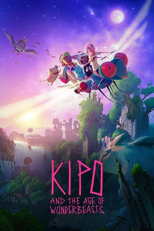 Key visual ofKipo and the Age of Wonderbeasts