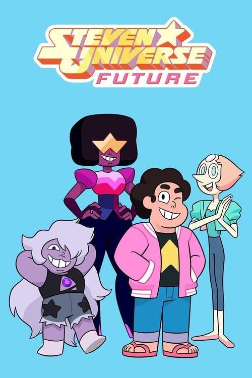 Key visual ofSteven Universe Future