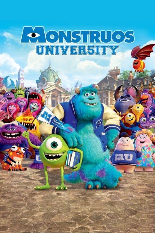 Key visual ofMonsters University