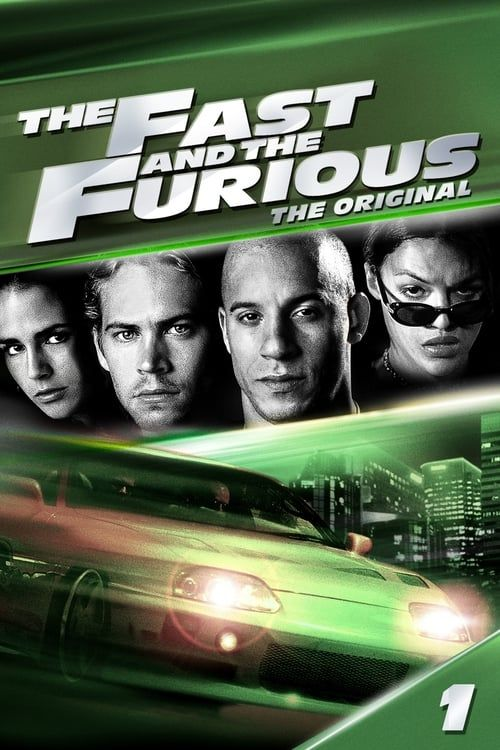 Key visual ofThe Fast and the Furious
