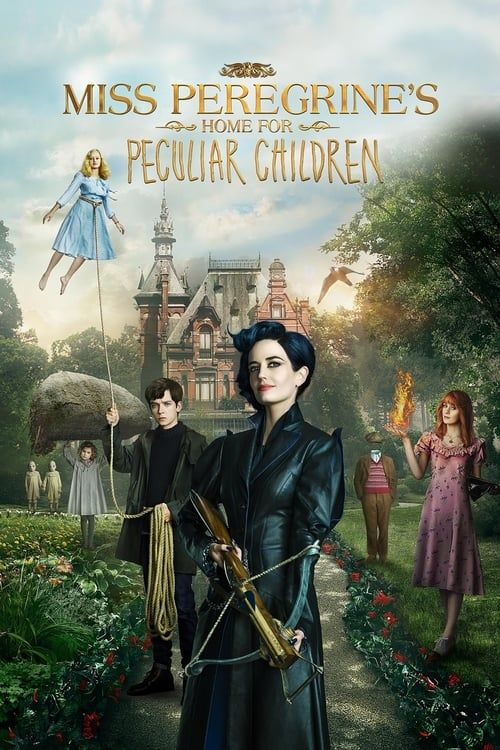 Key visual ofMiss Peregrine's Home for Peculiar Children