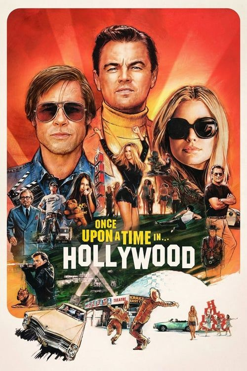 Key visual ofOnce Upon a Time… in Hollywood
