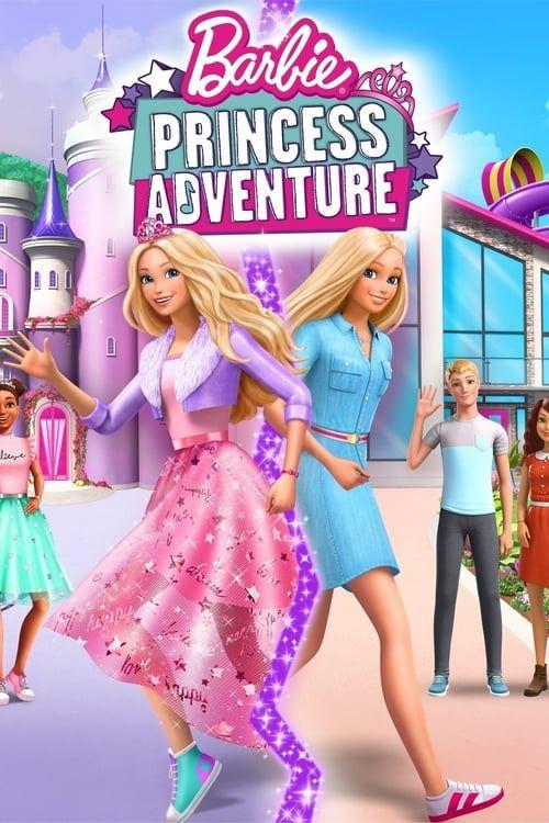 Key visual ofBarbie: Princess Adventure