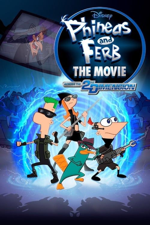 Key visual ofPhineas and Ferb the Movie: Across the 2nd Dimension