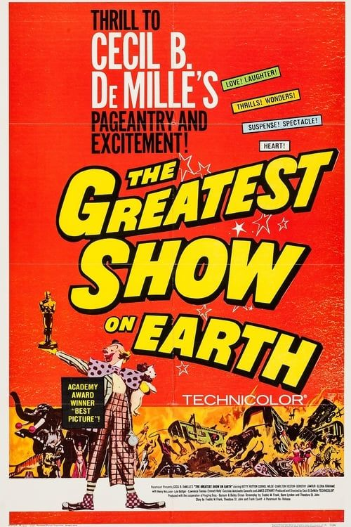 Key visual ofThe Greatest Show on Earth