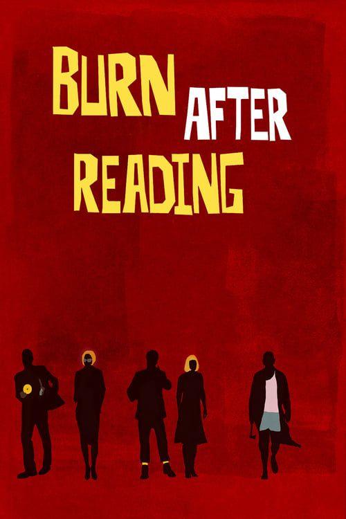 Key visual ofBurn After Reading