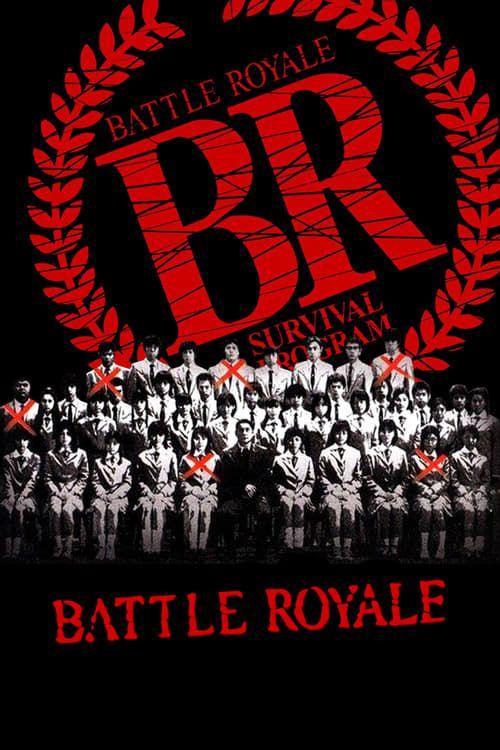 Key visual ofBattle Royale