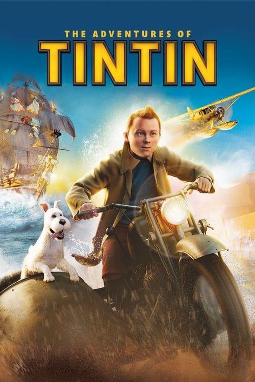 Key visual ofThe Adventures of Tintin