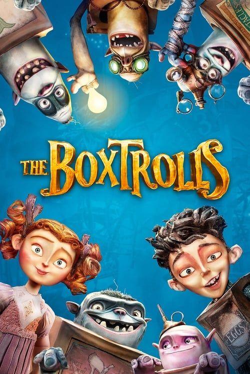 Key visual ofThe Boxtrolls