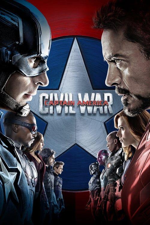 Key visual ofCaptain America: Civil War