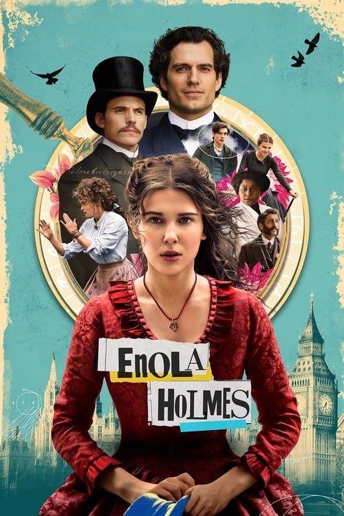 Key visual ofEnola Holmes