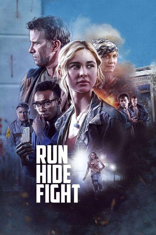 Key visual ofRun Hide Fight