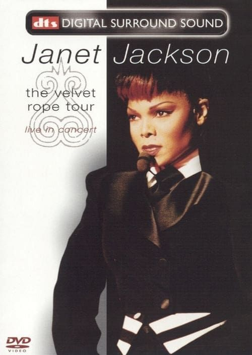 Key visual ofJanet Jackson: The Velvet Rope Tour