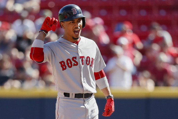 Image result for Boston Red Sox Mookie Betts