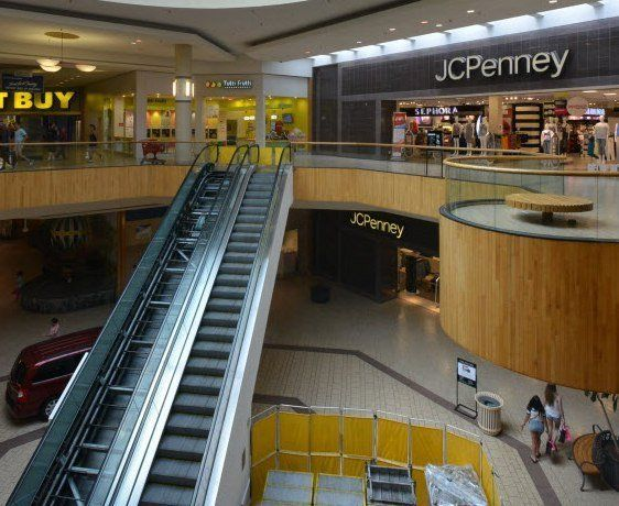 Holyoke Malls Down Escalator At JC Penney To Be Fixed In August Spokeswoman