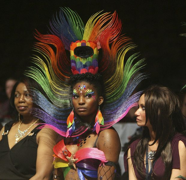 Photo Gallery Fantasy Hair Competition