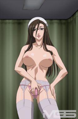 淫笑う看護婦 THE ANIMATION counseling.1「S系眼鏡お姉様はお好き?」キャプチャー画像 (1)