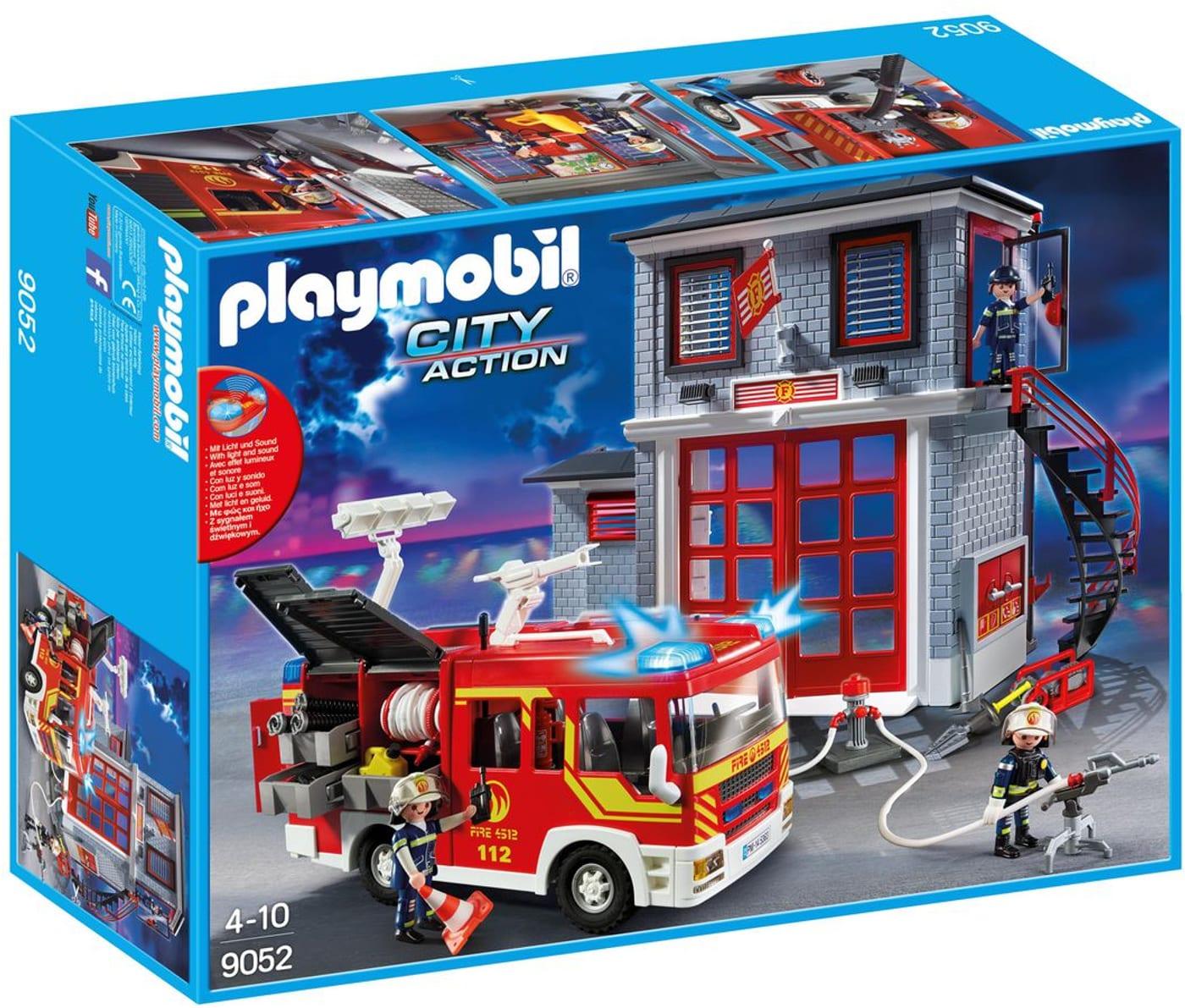 Playmobil Ausmalbilder Feuerwehr - Playmobil Mein Großes