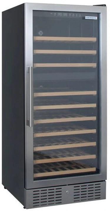 armoire de mise en temperature pour le vin