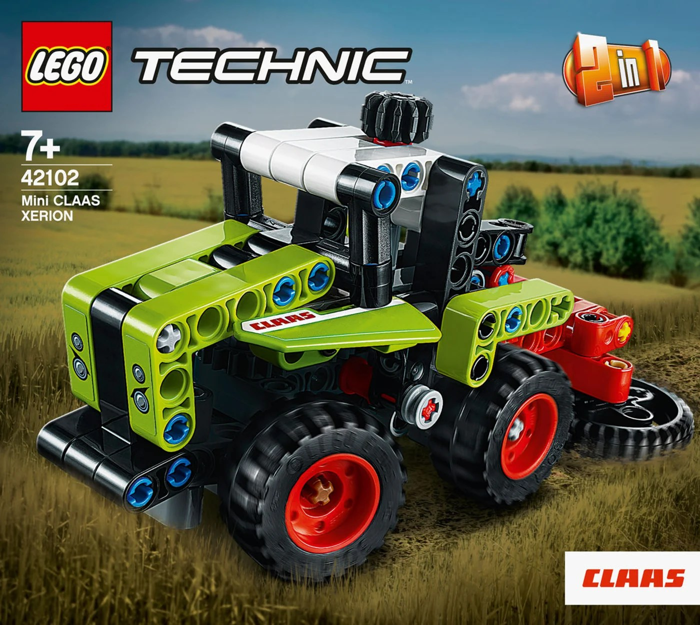Claas Bettwäsche Lego® Technic 42102 Mini Claas Xerion | Migros