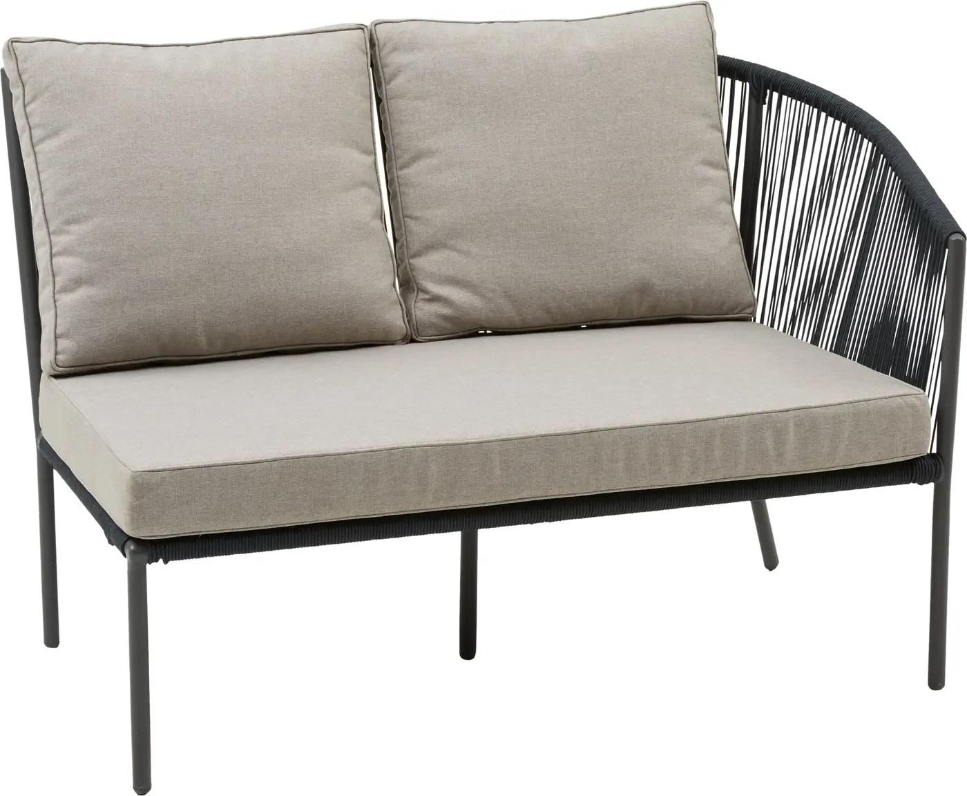 Rattan Lounge Migros Set Grau Affordable Badteppich With Set Grau